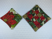 Unscented Coasters - Holiday Quilt