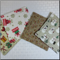 Unscented Coasters - Holiday