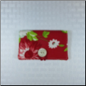 Red Mum Button Envelope