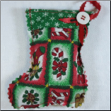 Snow Flakes Stocking